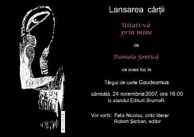Felix Nicolau despre Daniela Sontica